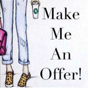 Make me a Reasonable Offer.